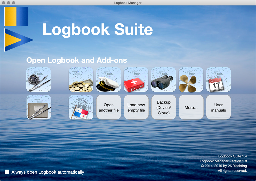 Logbook Manager